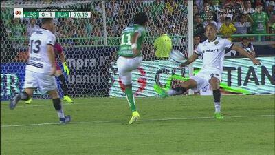 ¡Llega el 1-1! El VAR alerta de un penalti y Ángel Mena empata para el León