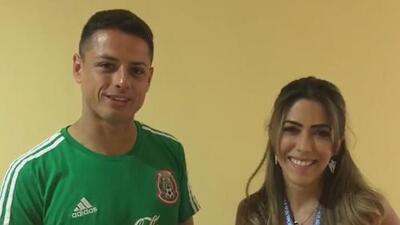 Así le agradeció el 'Chicharito' a los familiares y seguidores del Tri por el apoyo en el Mundial