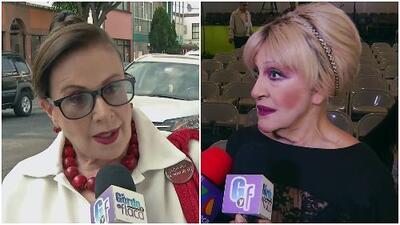 Laura Zapata le respondió a la exesposa de José José de una manera 'diplomática'