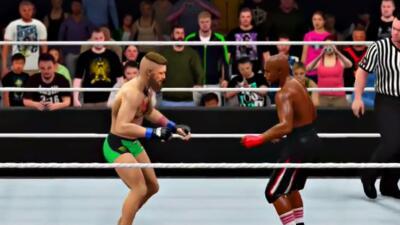 'Simulación' de Floyd Mayweather Jr. contra Conor McGregor