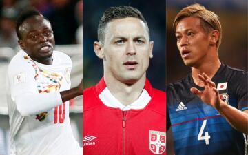 Estas son las figuras de los 'débiles' del Mundial, posibles rivales de México