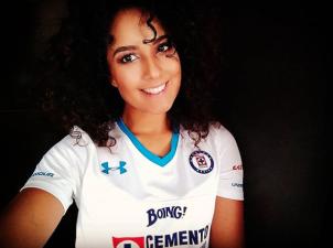 Sabrina Carvalho y su apoyo incondicional para que Cruz Azul mantenga su buen momento