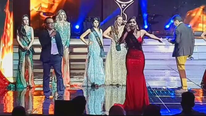 """""""Hay una corrupción inmensa en México"""": representante de Colombia denuncia fraude en la final de Miss Global"""
