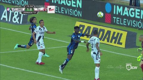 ¡Finalmente llegó el gol! Ake Loba remata para poner en ventaja a Gallos