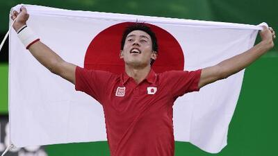 Kei Nishikori gana el bronce y deja a Nadal fuera del podio en Río 2016