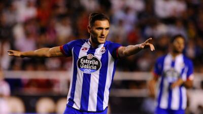Deportivo Coruña 2-0 Eibar: Lucas Pérez iguala a Bebeto anotando en siete fechas seguidas