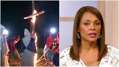 """Ilia Calderón: """"Nunca había sentido tanto odio en mi vida"""", tras amenaza del Ku Klux Klan"""
