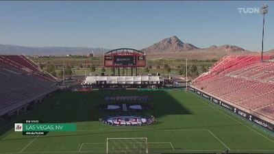 La hermosa postal del Estadio Sam Boyd previo al Cruz Azul-Tigres