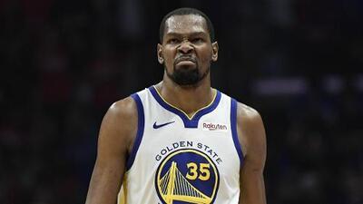 Durant jugaría el quinto juego con Warriors