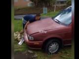 Hombre escala residencia en Vega Alta y su escape queda grabado en vídeo