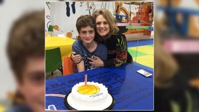 Ya no es un niño: Erika Buenfil celebró los 13 años de su hijo