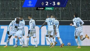 ¡Oxígeno merengue! Inter ganó al M'gladbach y revivió a Real Madrid