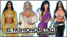 El Fashionómetro: Kim Kardashian dejó muy, pero muy poco a la imaginación con estos disfraces de Halloween