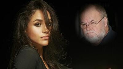 Meghan Markle rompe el silencio sobre su papá, pero no dice quién la entregará en su boda