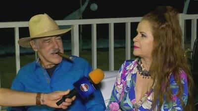 Esposa de Andrés García revela detalles de su matrimonio en el cumpleaños número 78 del actor