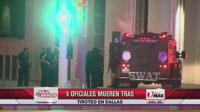Locutores de Uforia reaccionan tras tiroteo en Dallas