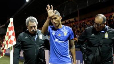 Meza fue operado del ligamento cruzado y estará de vuelta en seis meses con Tigres