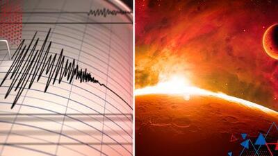 Así suena un terremoto en el planeta Marte