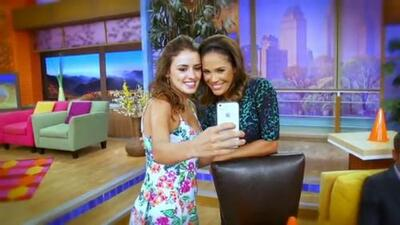 La protagonista de 'East Los High' visitó Miami, Univision y Despierta América