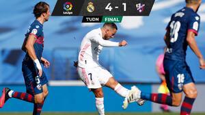 ¡Eden Hazard anotó después de un año con el Real Madrid!
