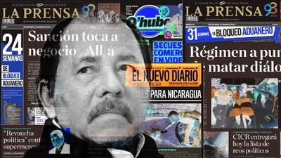 Un año de bloqueo aduanero de Daniel Ortega deja sin tinta y papel a la prensa de Nicaragua