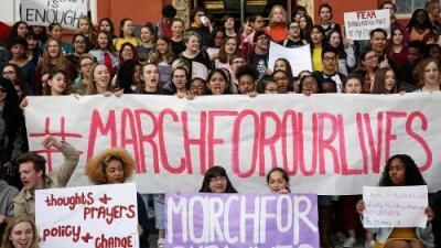 7 claves de la marcha en Washington con la que los jóvenes exigen a los políticos un mayor control de armas