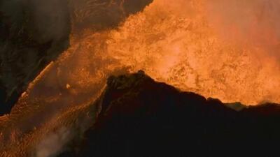El volcán Kilauea en Hawaii produce una explosión equivalente a un terremoto de magnitud 5.2