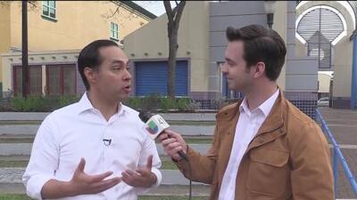 Julián Castro habla sobre sus planes si llega a ser presidente de los Estados Unidos