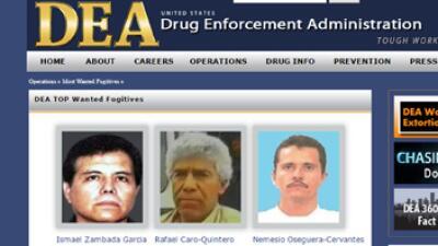 """La DEA incluye a Nemesio Oseguera """"El Mencho"""" en su lista de los fugitivos más buscados"""