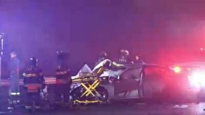 'Nueva York en un Minuto': Arrestan a los conductores involucrados en choque que dejó dos muertos