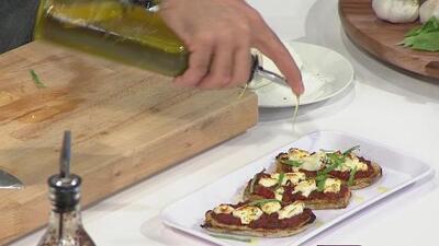 La receta: berenjena con salsa marinara
