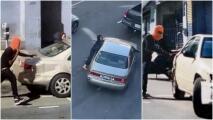 Mujer asiática es arrastrada por auto de sospechosos durante robo en San Francisco