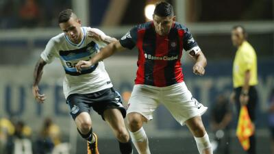San Lorenzo 1-1 Gremio: Gremio le arrebata el empate a San Lorenzo