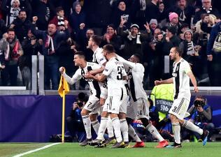 En fotos: memorable remontada de Juventus y paso a Cuartos de Final en la Champions