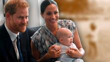 Meghan Markle y el príncipe Harry comparten nueva foto de Archie y piden 5 dólares por una buena causa