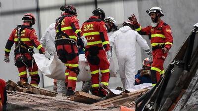 Se apaga la esperanza de encontrar a personas con vida bajo los escombros en México