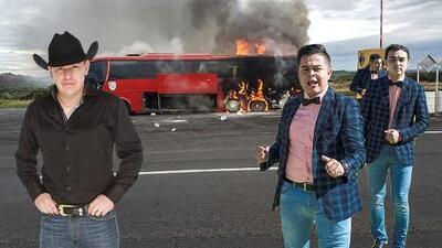 Una trampa mortal: así se juegan la vida los artistas de regional mexicano cuando viajan en autobús