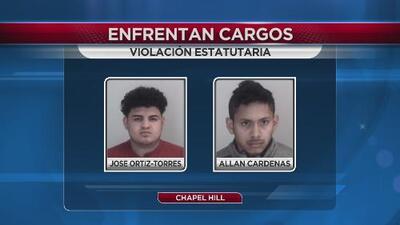 Dos adolescentes acusados de violación
