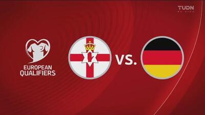 Irlanda del Norte 0-2 Alemania - Resumen y Goles - Grupo C - Clasificatorio Eurocopa 2020