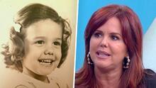 Con estas tiernas fotos de su infancia, María Celeste probó que su nariz no es operada