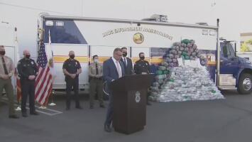 La DEA logra incautar el mayor cargamento de droga de su historia: más de una tonelada de metanfetaminas fue decomisada