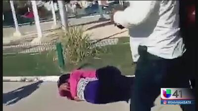 Captan en video una balacera durante un acto en el que participaba el alcalde de Nuevo Laredo