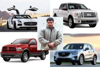 """¿Qué paso con la colección de carros de """"El Chapo Guzmán""""?"""