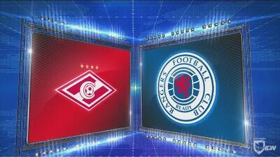 Spartak Moscú 4-3 Rangers - GOLES Y RESUMEN - Grupo G - UEFA Europa League