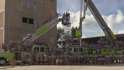 Rinden homenaje a las mujeres que hacen parte del Departamento de Bomberos de Miami-Dade