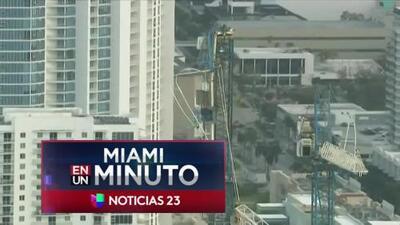 'Miami en un Minuto': Emiten alerta de evacuación en una zona de Miami por grúa que colapsó durante el paso del huracán Irma