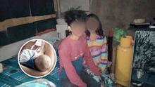 Abandonados por sus familias: Niños de 12 y 15 años se convierten en padres de bebé prematuro
