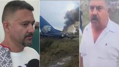 Pasajeros del avión de Aeroméxico que se desplomó en Durango relatan lo que sucedió en el despegue