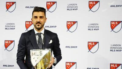"""David Villa, MVP de la MLS 2016: """"Este es uno de los días más grandes de mi carrera"""""""