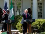 Trump pide apoyo de africanos a la candidatura de EE.UU., México y Canadá para el Mundial 2026
